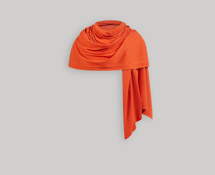 Cashmere Travel Wrap - Maple