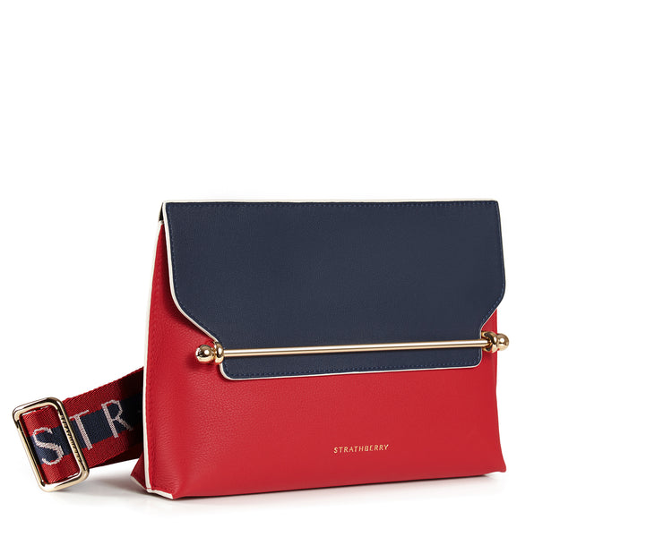 Stylist Belt Bag - Ruby/Navy