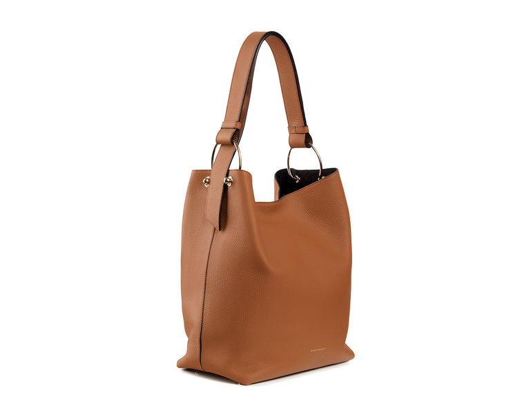 Lana Bucket Bag - Tan