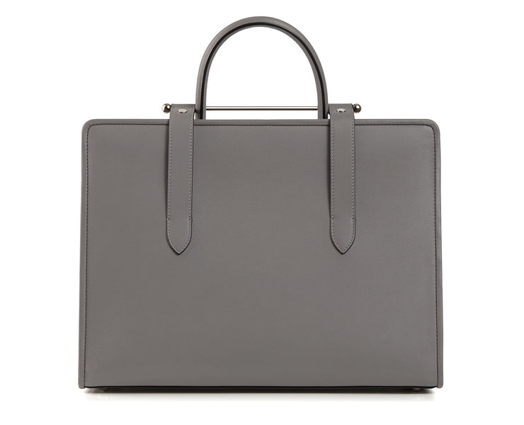 The Strathberry Tote - Slate (Silver Hardware)