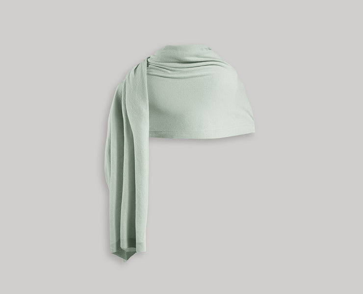 Cashmere Travel Wrap - Mint