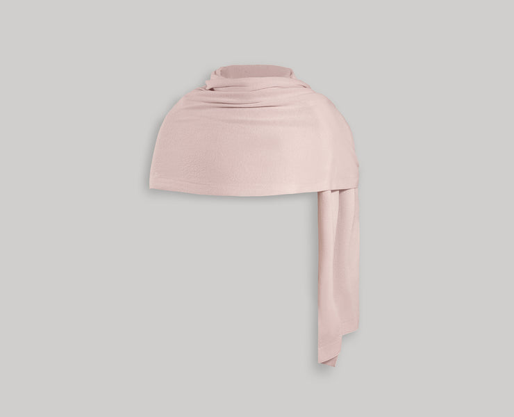 Cashmere Travel Wrap - Soft Pink
