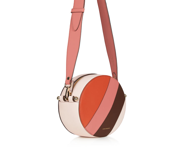 Breve Bag - Patchwork Stripes Soft Pink