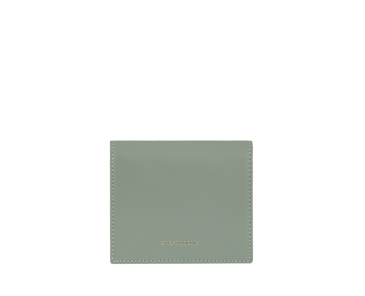 Walker Street Wallet - Sage/Bottle Green