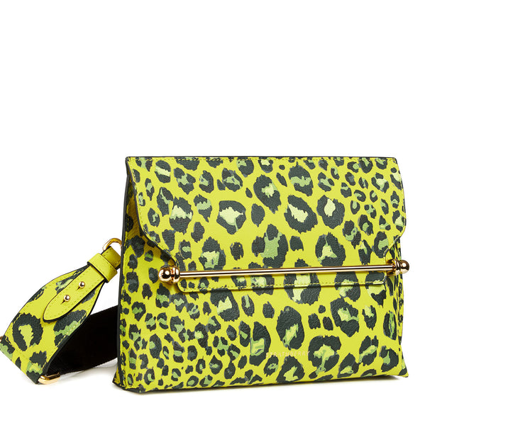 Strathberry X Alana Hadid Stylist - Lime Leopard