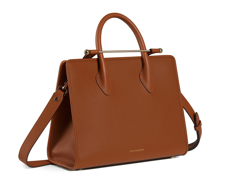 The Strathberry Midi Tote - Tan