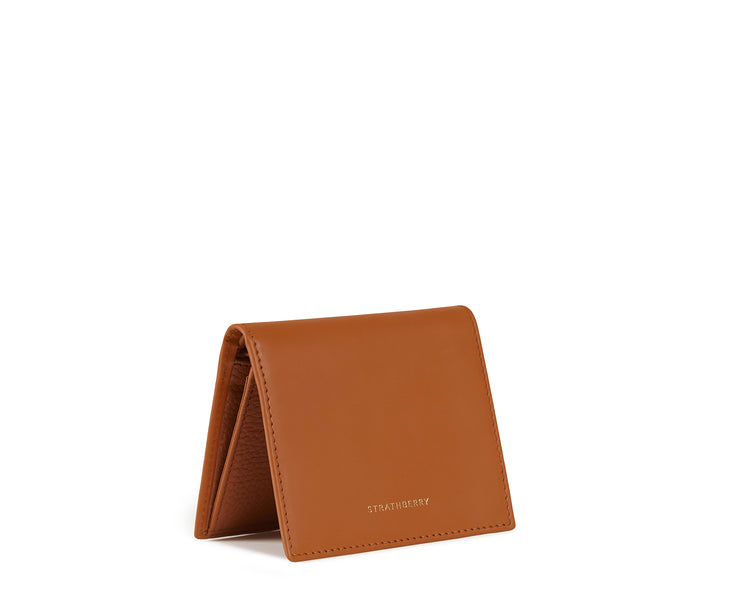 Walker Street Wallet - Whiskey/Tan