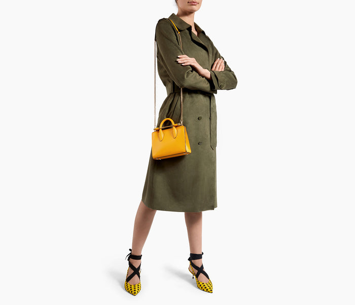The Strathberry Nano Tote - Blossom Yellow
