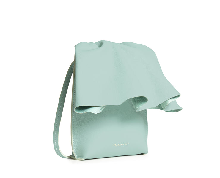 Ruffle Crossbody - Xu Zhi Mint